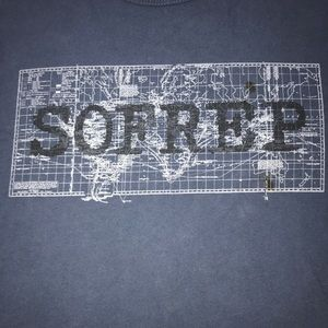 SOFREP XL NWOT Shirt Navy SEAL Brandon Webb's .Org
